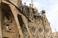 Sagrada Familia Cathedral - Spain Royalty Free Stock Photos