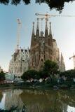 Sagrada Familia Stock Photo