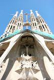 Sagrada Familia church Stock Image