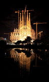 The Sagrada Familia Church in Barcelona Stock Images