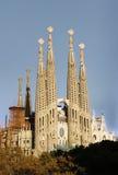 Sagrada Familia church (Barcelona) Royalty Free Stock Images