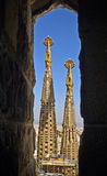 Sagrada Familia Church in Barcelona Stock Photography
