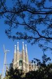 Sagrada Familia church in Barcelona - Catalonia - Spain Stock Photo