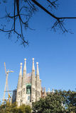 Sagrada Familia church in Barcelona - Catalonia - Spain Stock Photo