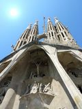 Sagrada familia church, Barcelona, Spain Stock Photos