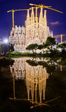 Sagrada Familia church in Barcelona, Spain. Stock Image
