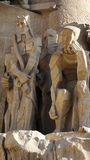 Sagrada Familia - Close-up of judgement of Jesus Royalty Free Stock Images