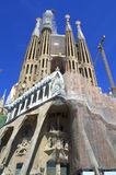 Sagrada Familia construction,Barcelona Royalty Free Stock Image