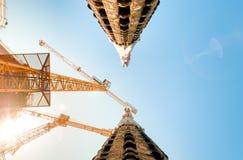 Sagrada Familia de Barcelone en Espagne, l'Europe. Image libre de droits