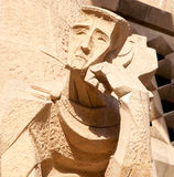 Sagrada Familia detail Stock Photo