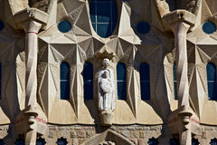 Sagrada Familia detail, Barcelona, Spain Royalty Free Stock Photos