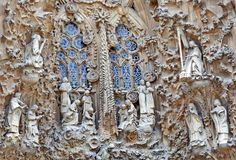 Sagrada familia detail Royalty Free Stock Images
