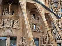 Sagrada familia detail Royalty Free Stock Image