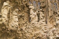 Sagrada Familia. Details of the Sagrada Familia in Barcelona Spain Stock Photography