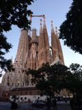 Sagrada Familia fotografia stock