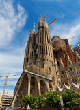 Sagrada Familia domkyrka Royaltyfria Bilder