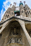 Sagrada familia editorial Royalty Free Stock Photos