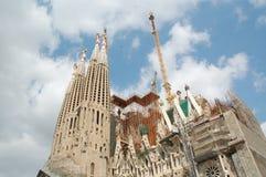 Sagrada Familia em Barcelona Imagem de Stock Royalty Free