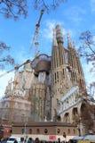 Sagrada Familia en Barcelona, España Imagen de archivo