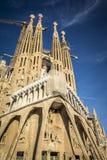 Sagrada Familia en Barcelona España Fotos de archivo