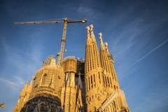Sagrada Familia en Barcelona España Fotografía de archivo libre de regalías