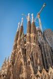 Sagrada Familia, Hiszpania, Barcelona, Wrzesień 2017, katedry des obrazy stock