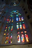 Sagrada familia interior Royalty Free Stock Photos