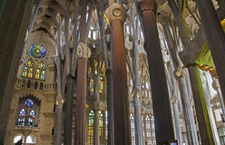 Sagrada Familia 19 Royalty Free Stock Photos