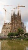 Sagrada Familia kontynuuje budować Zdjęcia Royalty Free