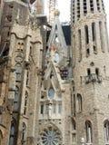 Sagrada Familia a large Roman Catholic church, Barcelona,Spain royalty free stock images