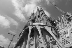 Sagrada Familia laufend Stockfotos