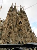Sagrada Familia outdoor Royalty Free Stock Images