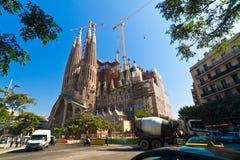 Sagrada Familia P Fotografia Stock