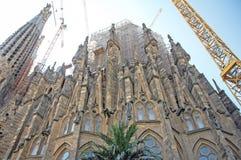Sagrada Familia por Gaudi Imagen de archivo