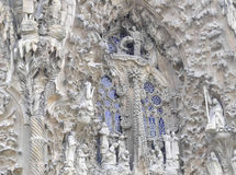 Sagrada Familia Sculpture Stock Images