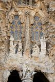 Sagrada Familia sculptures Stock Image
