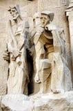 Sagrada familia Statuen stockfotos