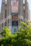 Sagrada Familia Temple Stock Photo