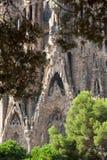 Sagrada Familia Temple Stock Image