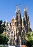 Sagrada Familia Temple Royalty Free Stock Photography