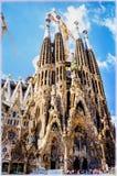Sagrada Familia Temple in Barcelona, Spain Royalty Free Stock Photography
