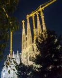 Sagrada Familia Temple in Barcelona, Spain Stock Image