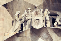 Free Sagrada Familia Temple Details Royalty Free Stock Photo - 13126655