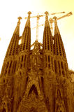 Sagrada Familia towers,Barcelona Royalty Free Stock Image