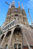 Sagrada Familia w Barcelona, Hiszpania Obraz Stock