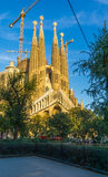 Sagrada Familia w Barcelona, Hiszpania Obraz Royalty Free