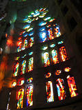 Sagrada Familia Windows Stock Photography