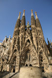 Sagrada Familia -work of Antonio Gaudi. Detailed view of Sagrada Familia; great work of Antonio Gaudi stock photo