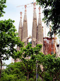Sagrada Fam�lia, Barcelona, Spain. Royalty Free Stock Images