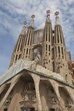 Sagrada oben betrachten stockfoto